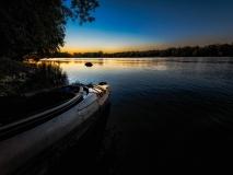 Pennyfield Lock at Dawn