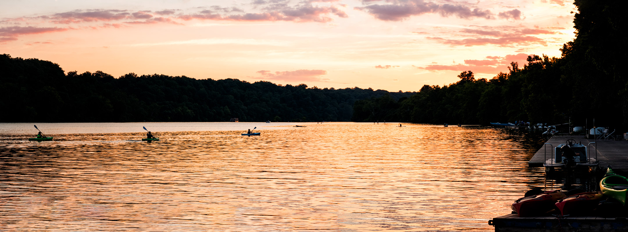 Potomac Evening Paddle