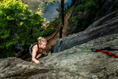 Billy Goat Trail Rock Climbing